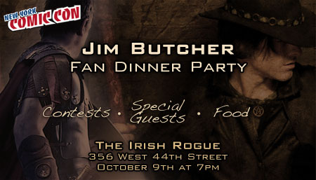 Jim Butcher NYCC Fan Dinner